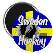Sweden Hockey Magnet