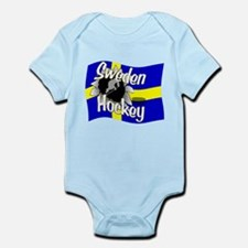 Sweden Hockey Infant Bodysuit