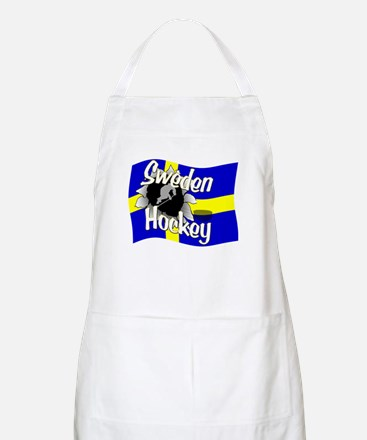 Sweden Hockey BBQ Apron