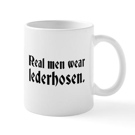 Real Men Wear Lederhosen Mug