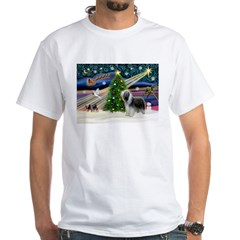 Xmas Magic & Beardie White T-Shirt