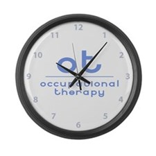 ot occupational therapy Large Wall Clock