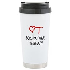 Occupational Therapy Heart Travel Mug
