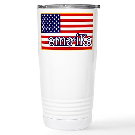 Phonetics America Stainless Steel Travel Mug