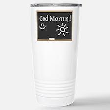 Phonetic Good Morning Travel Mug