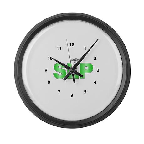 SLP Green Large Wall Clock