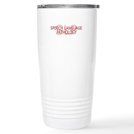 SLP Speech - Stainless Steel Travel Mug