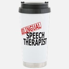 Bilingual Speech Therapist Travel Mug