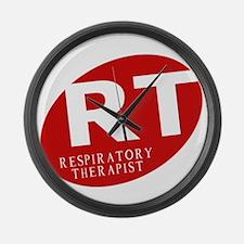 Respiratory Therapist Large Wall Clock