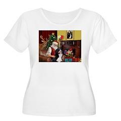 Santa's Home & Bernese T-Shirt