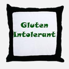 Gluten Intolerant Throw Pillow
