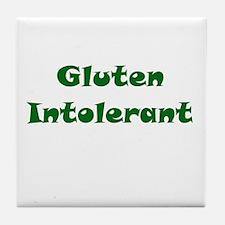 Gluten Intolerant Tile Coaster