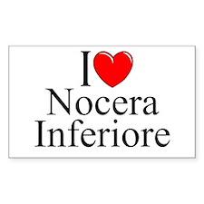"""I Love (Heart) Nocera Inferiore"" Decal"