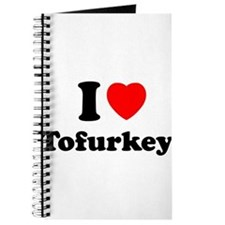 I Love Tofurkey Journal