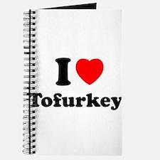 I Love Tofurkey Journal