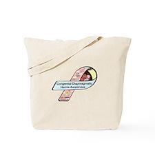Faith Miles CDH Awareness Ribbon Tote Bag