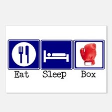 Eat, Sleep, Boxing Postcards (Package of 8)