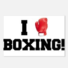 I love boxing Postcards (Package of 8)
