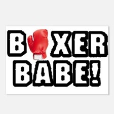 Boxer Babe! Postcards (Package of 8)