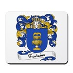 Fontaine Family Crest Mousepad