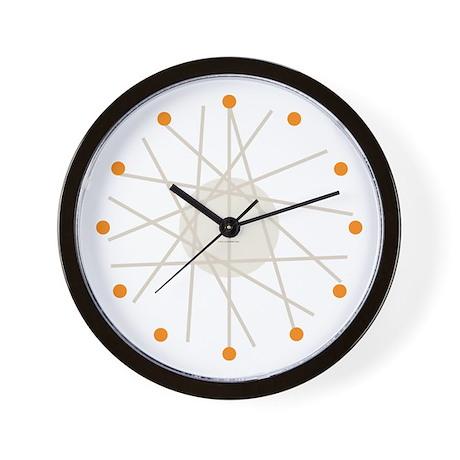 Haywire Small Wall Clock (orange)