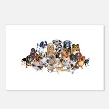 Dog Pile Postcards (Package of 8)