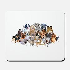 Dog Pile Mousepad