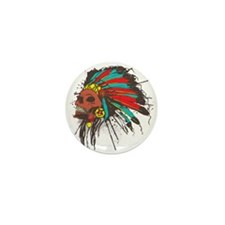 War Chief Mini Button