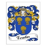 Forestier Family Crest Small Poster
