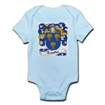 Forestier Family Crest Infant Creeper