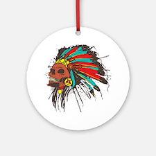 War Chief Ornament (Round)