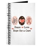 Peace Love Hope For A Cure Journal
