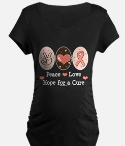 Peace Love Hope For A Cure T-Shirt