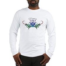 Marta's Celtic Dragons Name Long Sleeve T-Shirt