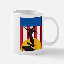 American Skateboard Mug