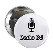 "Radio DJ 2.25"" Button"