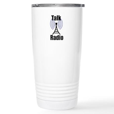Talk Radio Stainless Steel Travel Mug