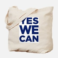 Cute Yes we can Tote Bag