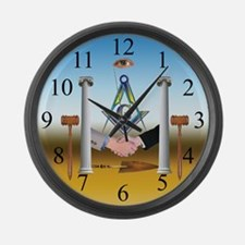 The Brotherhood Large Wall Clock