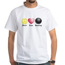 Peace, Love, Bowling Shirt