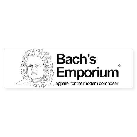 Support Bach's Emporium Bumper Sticker