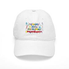 Matthew's 5th Birthday Baseball Cap