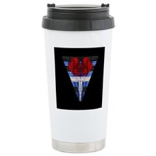 LEATHER PRIDE/BRICK TRIANGLE/B Travel Mug
