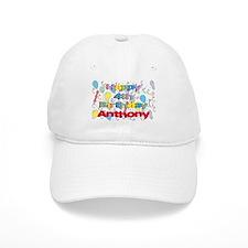 Anthony's 4th Birthday Baseball Cap