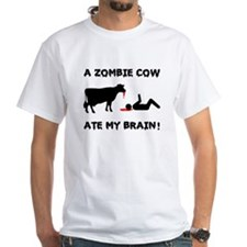 """""""A Zombie Cow Ate..."""" Shirt"""
