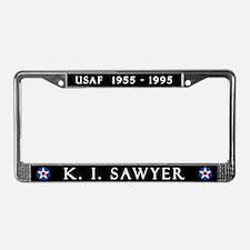 K. I. Sawyer Air Force Base License Plate Frame