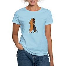 Dancing Dachshunds T-Shirt