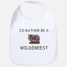 I'd Rather Be A Wildebeest Bib
