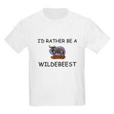 I'd Rather Be A Wildebeest T-Shirt