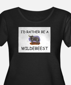 I'd Rather Be A Wildebeest T